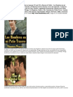 Libros en Espanol - Amazon y Barnes & Noble