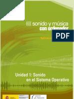Modulo 2. Sonido y Musica Por ordenador. 02 Sonido en El Sistema Operativo