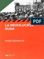 Fitzpatrick , Sheila - La revolución rusa