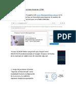 Manual de Conexión al Aula Virtual