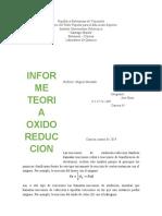 TRABAJO OXIDO REDUCCION