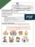 C.  Sociales Grado 1° Ficha 1 Teresita 1