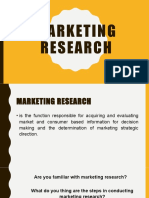 Marketing research1