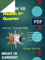 4th quarter in HEALTH