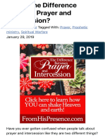 What's the Difference Between Prayer and Intercession? - From His Presence®.pdf