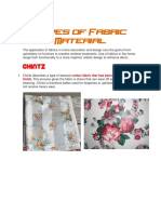 Types of Fabric Material