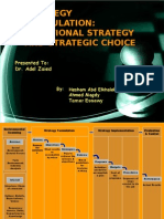 Functional Strategy Presentation