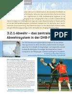 3_2_1-Abwehr das zentrale Abwehrsystem in der DHB-Förderung - PDF Kostenfreier Download