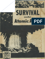 Survival Under Atomic Attack - 1951