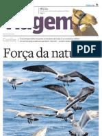 Suplemento Viagem - Jornal O Estado de S. Paulo - Caribe - Força da natureza - 20110104