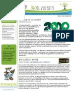 Mainstream Biodiversity Newletter-Issue 1