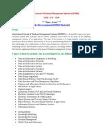 International Journal of Database Management Systems (IJDBMS)
