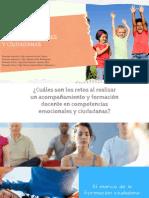 Relatoría Competencias Socioemocionales