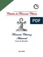 Guía de Farmacia Clínica y Asistencial 2019