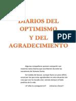 Diarios del optimismo y agradecimiento
