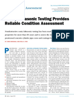Fisk, Paul S. -- Sonic_Ultrasonic Testing Provides Reliable Condition Assessment