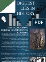 Biggest Lies in History