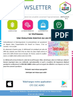 2020-05-28 Newsletter AGRO - Télétravail