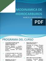 TERMODINAMICA DE HIDROCARBUROS