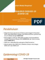 dr. Erlina Burhan - PPT COVID Modul Respirasi