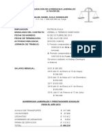 FORMATO LIQUIDACIÓN LABORAL - TOTAL