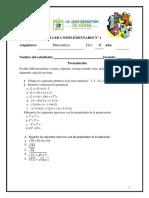 1. Matemáticas Clei 4I
