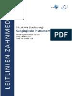 083-030_S3_Subgingivale_Instrumentierung_Kurzversion