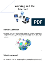 4- Networking and the Internet