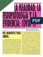Entre la Realidad, la Fisiopatologia y la Evidencia