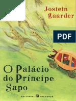 Jostein Gaarder - O Palácio do Príncipe Sapo.pdf