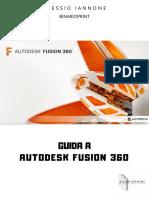 Autodesk Fusion 360 - Manuale d'uso Italiano