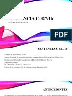 Sentencia C-327