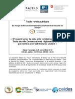 programme TR PEV FDD _FR