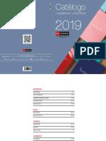 Catálogo Cuadernos y Escritura Miquelrius - 2019