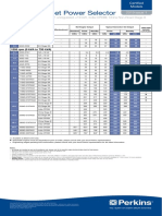 Catalogo General de Power (Grupos Electrogenos) Perkins