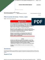 PILOTO DE PRESION DEL SISTEMA D8T