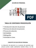 2.SELECCIÓN DE PERSONAL