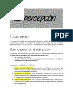 02-La percepción