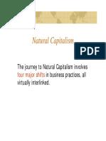 Natural Capitalism 4 Principles