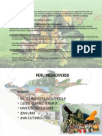 PERU MEGADIVERSO