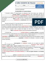7º ano - História -  Atividade complementar 1 - MAR2020 - GABARITO