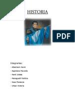 Historia II Informe