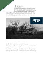 combate de la tapera, sobre un cuento uruguayo