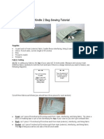 Kindle 2 Bag Sewing Tutorial_doc