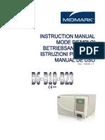 138789_User Manual Promotal - AUTOCLAVES MIDMARK B6-B18-B23.pdf
