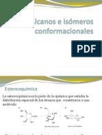 Alcanos e isomeros conformacionales