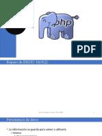 3.4 PHP y Bases de datos
