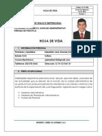 HOJA DE VIDA Auxiliar Administrativo Sebastian Jimenez com