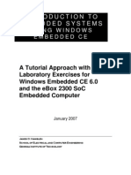 Introduction to Embedded Systems Using Windows Embedded Ce