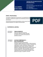 HOJA DE VIDA (FRESHBUBBLES)